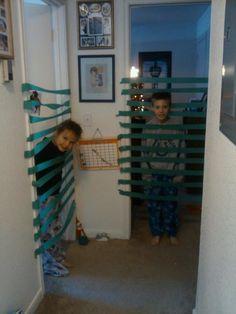 Taping doors
