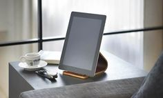Wooden iPad / Tablet Stand  Store A Place For Everything.  UK