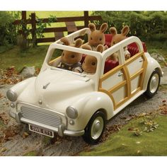 Sylvanian Families - just got to love this car!