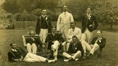 Leander Crew, gold medal rowing team. London Olympics, 1908.