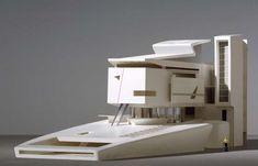 frédéric borel architecte, architectural model