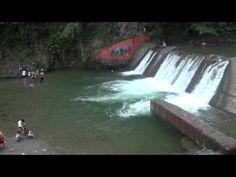 Balneario del rio Masipedro Bonao provincia Monseñor Nouel region norte ...