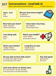 Korean Language Lesson: Conversations- Small Talk Part 1  2