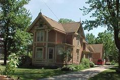 One of the old houses on Main Street, Richmond MI
