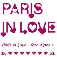 Paris Alpha - Christie's Embroidery Cafe