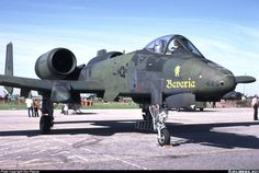Fairchild A-10A Thunderbolt II aircraft picture