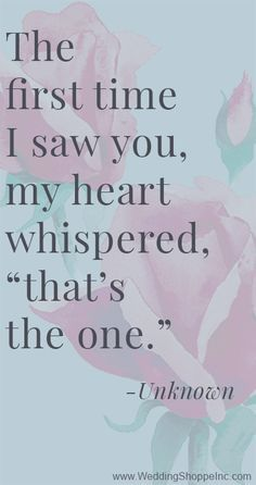 Beautiful wedding quotes about love : 38 Love Quotes for Your Wedding Vows Life Quotes Love, Cute Quotes, Great Quotes, Quotes To Live By, Inspirational Quotes, Crazy In Love Quotes, Crazy About You Quotes, Wedding Quotes And Sayings, Finding The One Quotes