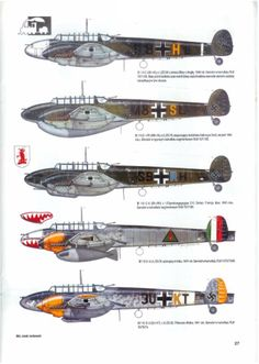 Messerschmitt profiles - Google Search I think we're missing a few here though.