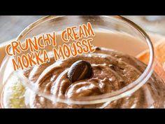 Dieses Ovomaltine Mousse ist immer ein Genuss: Für das feine Dessert aus Mokka und Ovomaltine Crunchy Cream haben auch gefüllte Bäuche noch Platz. Genussvoll crèmig für alle Schleckmäuler dieser Welt! Teste dieses leckere Rezept sofort aus und überzeuge dich selbst vom Ovomaltine Crunchy Cream Mokkamousse. Mousse, Moka, Pudding, Cream, Cravings, Ovaltine, Delicious Desserts, Recipe, Palm Oil