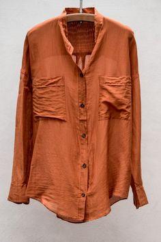 My Shirt Silk Cotton Voile — Zucca