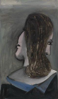 Pablo Picasso. Buste de femme (Dora Maar). 1942 year