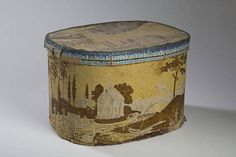 """Height 12 inches, length 18 inches.Literature: Lilian Baker Carlisle, """"Hat Boxes…"""