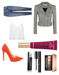 """Sans titre #69"" by laurine-darcy on Polyvore featuring mode, IRO, Topshop, Alice + Olivia, Too Faced Cosmetics, Clarins, Chanel et Dolce&Gabbana"