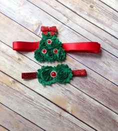 Baby Girl Toddler Christmas Headband and Sash Set,  Christmas Photo Prop, Christmas Bow, My 1st Christmas, Christmas Set, Christmas Outfit by AvaMadisonBoutique on Etsy
