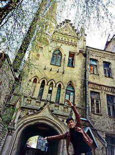 РЫЦАРСКИЕ ЗАМКИ и дворцы Киева: Отличная возможность познакомиться с шедеврами неоготической архитектуры, которые привлекают всеобщее внимание и являются яркими изюминками архитектуры столицы.