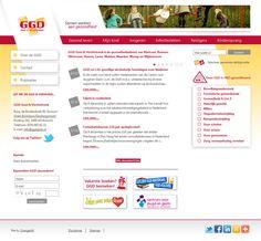 Desarrollamos el sitio Web para el Sistema Regional de Salud de Gooi & Vechtstreek, el cual tiene por objetivo promover la salud entre los habitantes de la región, quienes ahora pueden acceder a consejos de viaje, vacunas, cursos educativos y decenas de folletos educativos en varios problemas de la salud.