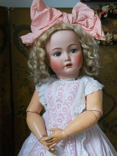 ~~~ Stunning Bisque Character Child 117n by Kammer & Reinhardt ~~~