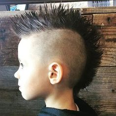 Boy Mohawk Haircuts - Best Boys Haircuts: Cool Hairstyles For Little Boys - Cute Cuts and Styles For Baby Boy Mowhawk Hairstyles, Fohawk Haircut, Little Boy Hairstyles, Fade Haircut, Cool Hairstyles, Popular Hairstyles, Trendy Boys Haircuts, Boy Haircuts Short, Toddler Boy Haircuts