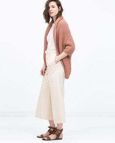 Image 1 of DRAPED CARDIGAN from Zara