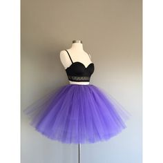 Ready to Ship Grape Tulle Skirt Adult Tutu Purple Tutu Tulle Skirt... ($30) ❤ liked on Polyvore featuring skirts, grey, women's clothing, tie-dye skirt, purple tutu, grey tulle skirt, gray tutu and grey tutu