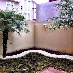"""""""Primeira etapa concluída, forração! #paisagismo #landscape #verde #green #projetopaisagístico"""""""