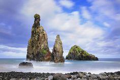 Ribeira da Janela is a beachside village of vineyards and stunning ocean rock formations.