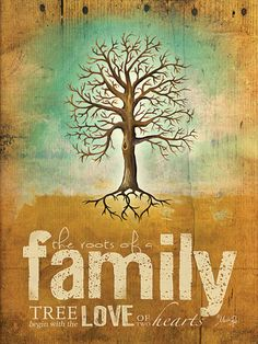 Roots of a Family by artist Marla Rae