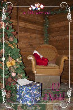 La casa di Babbo Natale.