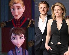 """King & Queen of Arendelle — Jason Danieley & Marin Mazzie 