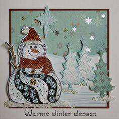 Marjoleine's blog: Sneeuwman doodlen tijdens de aanschuifworkshop van 2 en 3 oktober