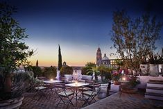 L'Otel, a colonial mansion turned boutique hotel in San Miguel Allende, Mx Ad Mexico, Mexico House, Places To Travel, Places To Visit, Colonial Mansion, Best Honeymoon, Honeymoon Planning, Rooftop Terrace, Mexico Travel