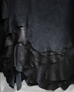A delicious draping of our Sorensen Leather Prestige / Black. Photo: Jonas Bjerre-Poulsen / #NORMArchitects