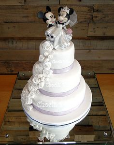 Saxon and Ashleigh's wedding cake Wedding Day, Wedding Things, Wedding Stuff, Disney Love, Happily Ever After, Celebrity Weddings, Beauty And The Beast, Getting Married, Cake Toppers
