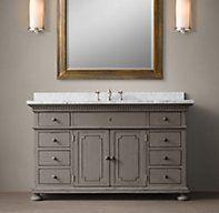 St. James Extra-Wide Single Vanity Sink