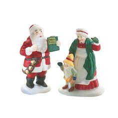 Department 56 North Pole Santa and Mrs Claus ** Be sure to check out this awesome product.