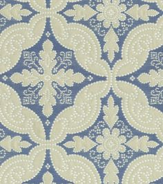 Upholstery Fabric-Williamsburg Pintado Ink
