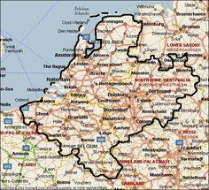 Benelux met Nordrhein-Westfalen