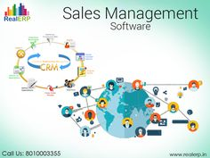 #SalesManagementSoftware robotizes the business procedures, for example, planning, keeping stock records, taking client requests, operations and money related information. See more @ http://bit.ly/2pgXYAs #RealERP #SalesManagement