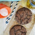 """Sea+Salt+&+Olive+Oil+Brownie+Cookies+{Olivari+""""Year+of+the+Little""""}"""