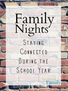 Family Nights: Stayi