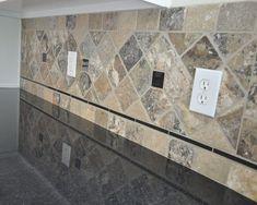 granite countertop and tile backsplash ideas