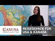 Video USA und Kanada: Unsere Tipps für das richtige Reisegepäck   traveLink.