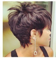 Yessss Short Hairstyle, Short Cuts, Hair Dos, Pixie, Hair Care, Longer Pixie Haircut, Short Hairstyles, Shortish Hairstyles, Hairdos