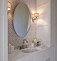 Small Bathroom - Design photos, ideas and inspiration. Amazing gallery of interior design and decorating ideas of Small Bathroom in girl's rooms, bathrooms by elite interior designers - Page 3 Chic Bathrooms, Bathroom Interior, Bathrooms Remodel, Bathroom Decor, Home, Interior, Bathroom Design, Beautiful Bathrooms, Home Decor