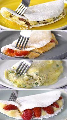 Aprenda quatro receitas de recheios para tapioca e tenha uma refeição cada vez mais prática e saborosa!