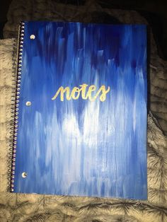 Notebook | DIY Back to School Supplies for Teens