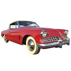 Raymond Loewy & Bourke Classic Studebaker Commander Starlight Coupe, 1954, USA   From a unique collection of antique and modern more antique and vintage finds at http://www.1stdibs.com/furniture/more-furniture-collectibles/more-antique-vintage-finds/