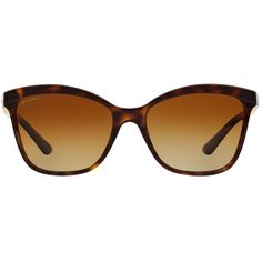 Bvlgari Tortoiseshell Cat Eye Sunglasses ($330) ❤ liked on Polyvore featuring accessories, eyewear, sunglasses, brown tint sunglasses, cat eye sunglasses, bulgari sunglasses, tortoise cat eye sunglasses and tortoise sunglasses
