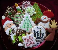 Christmas cookie tray 2014 | Cookie Connection
