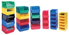 Stackable Plastic Storage Bins Useful For Modern Home Decoration Ideas with Stackable Plastic Storage Bins Home